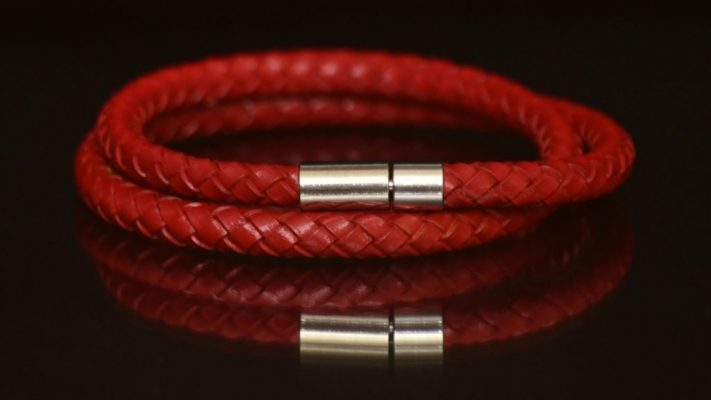 Yana leather dubel red